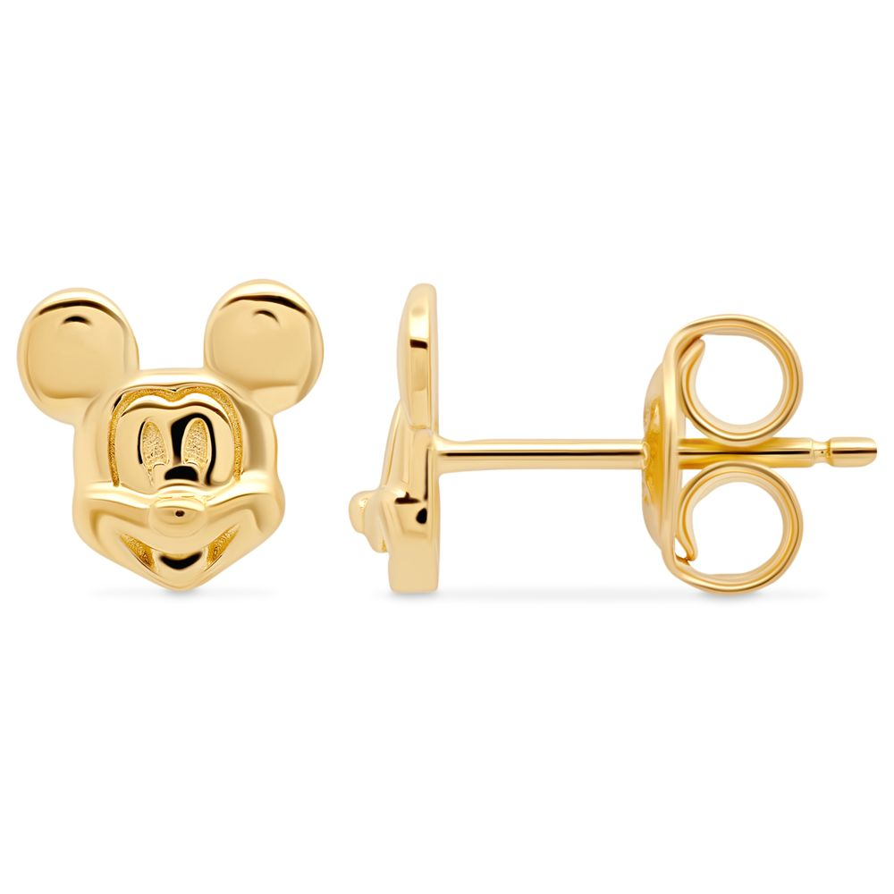 Mickey Mouse Face Earrings by CRISLU
