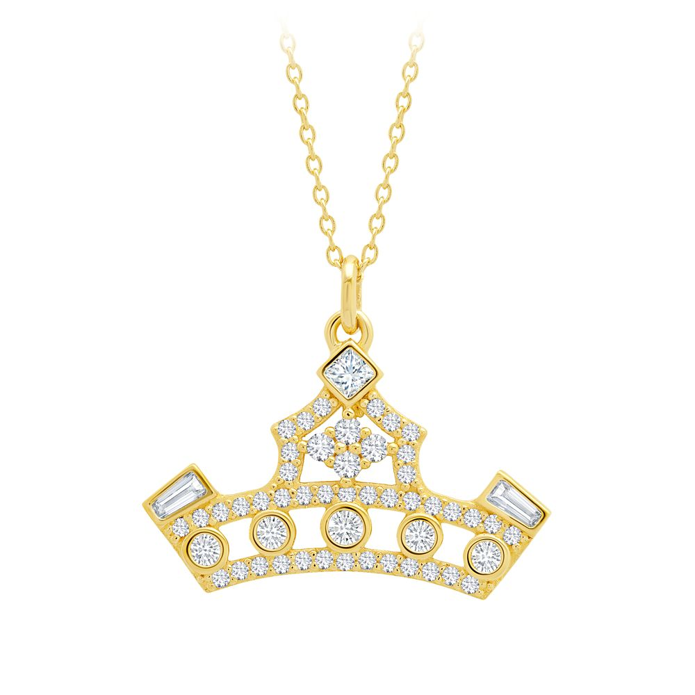 Disney Princess Crown Necklace by CRISLU