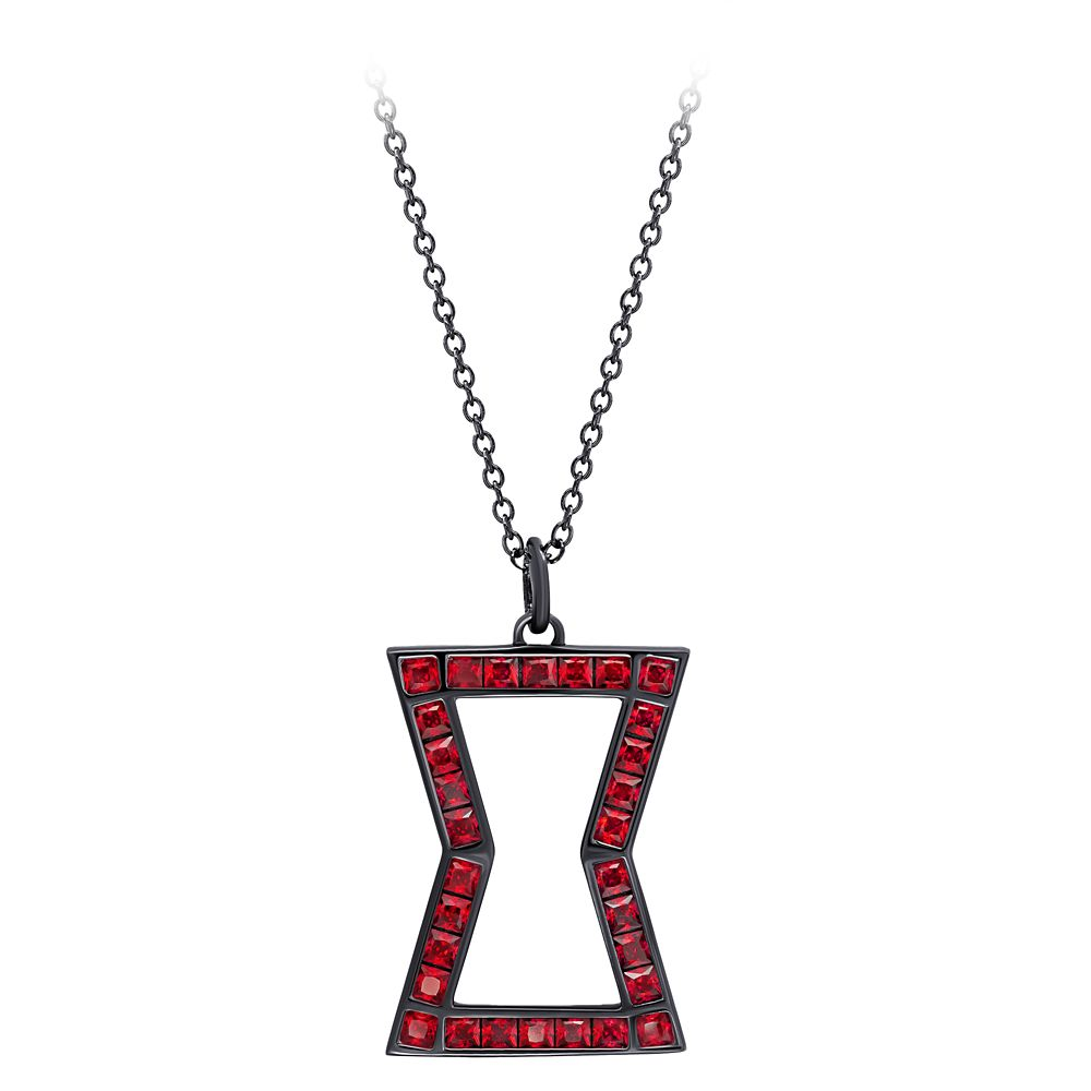 Black Widow Pendant Necklace by CRISLU – Marvel's Black Widow