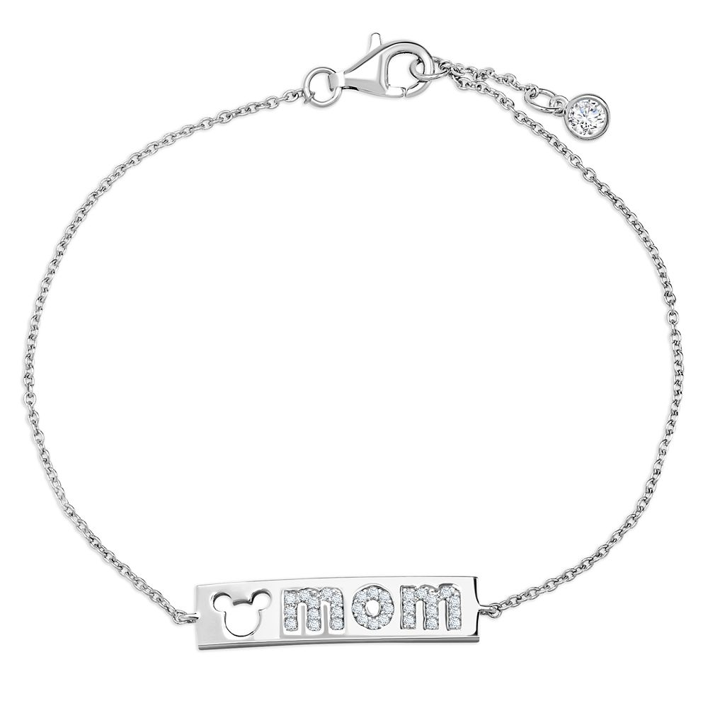 Mickey Mouse ''Mom'' Bar Bracelet by CRISLU Official shopDisney