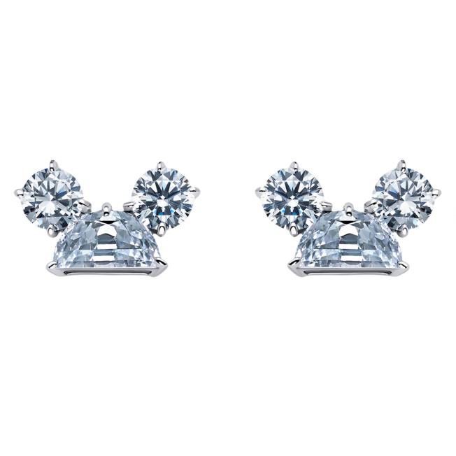 Mickey Mouse Ear Hat Earrings by CRISLU
