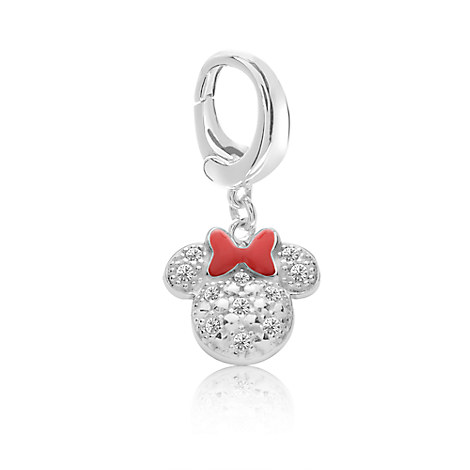 Minnie Mouse Sparkling Icon Charm - Disney Designer Jewelry Collection
