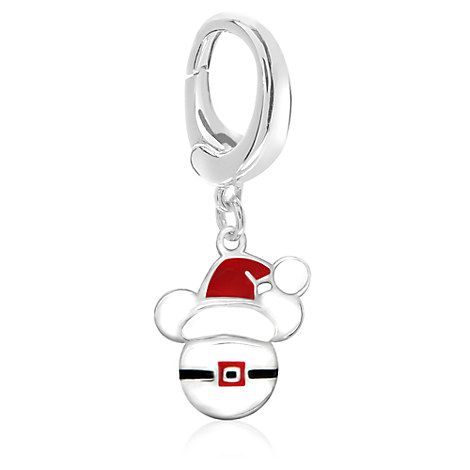 Mickey Mouse Santa Hat Charm - Disney Designer Jewelry Collection