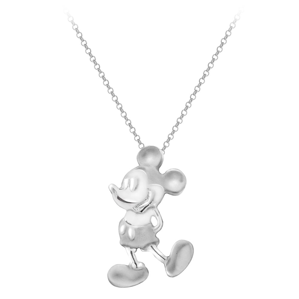 Mickey Mouse Two-Tone Necklace