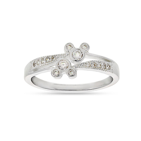 Mickey Mouse Siamese Ring - Disney Designer Jewelry Collection