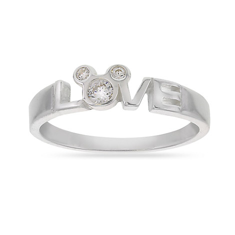 Mickey Mouse Love Ring