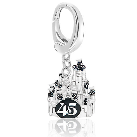 Magic Kingdom 45th Anniversary Charm - Walt Disney World - Disney Designer Jewelry Collection