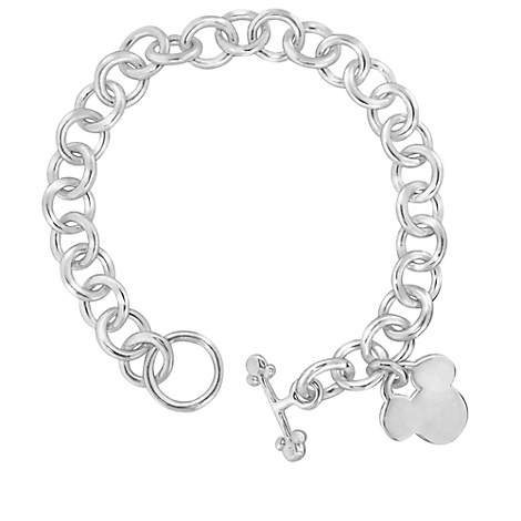 Mickey Mouse Icon Charm Bracelet - Disney Designer Jewelry Collection