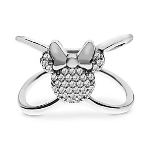 """Minnie Mouse """"X"""" Ring by Rebecca Hook"""