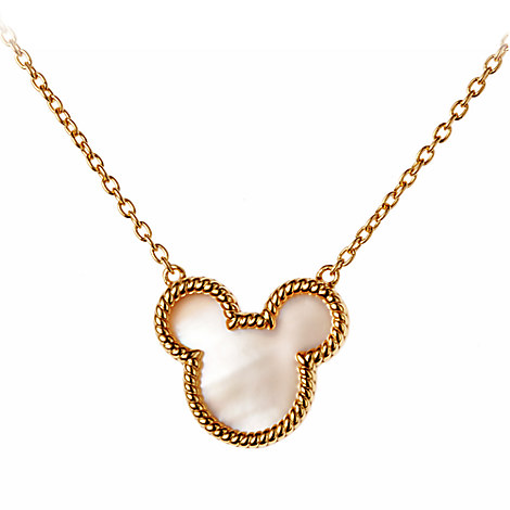 Mickey Mouse Icon Necklace by Rebecca Hook