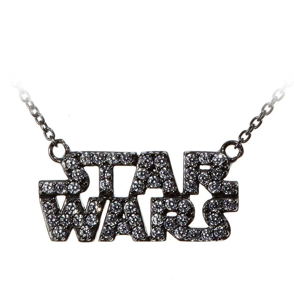 Star Wars Logo Necklace by Rebecca Hook