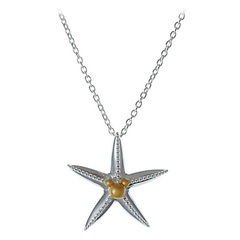 Mickey Mouse Icon Starfish Necklace by Rebecca Hook