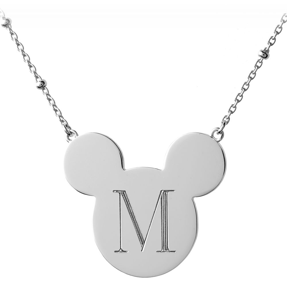 Mickey Mouse Initial Necklace – Rebecca Hook – Personalizable
