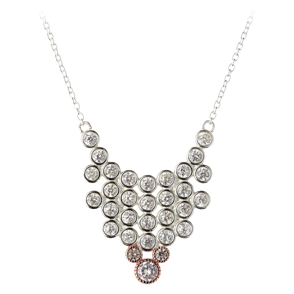 Mickey Mouse Cluster Necklace by Rebecca Hook