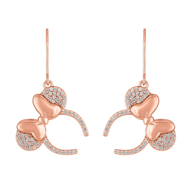Minnie Mouse Headband Earrings by Rebecca Hook – French Wire