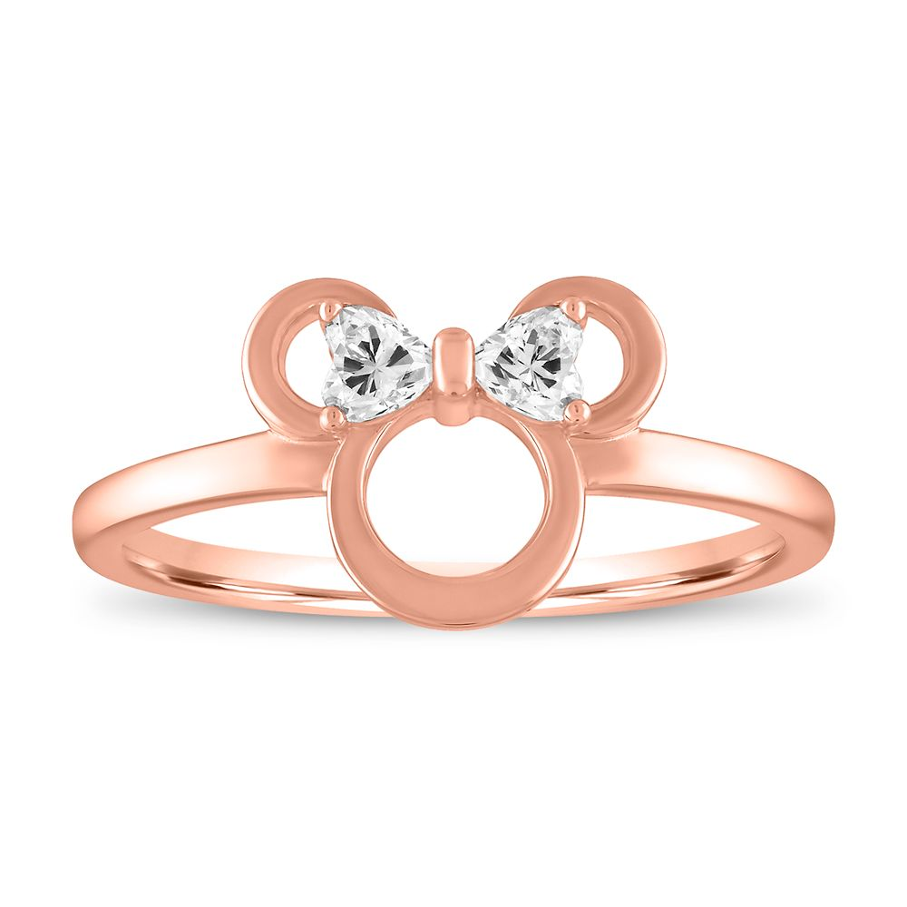 Minnie Mouse Icon Ring by Rebecca Hook