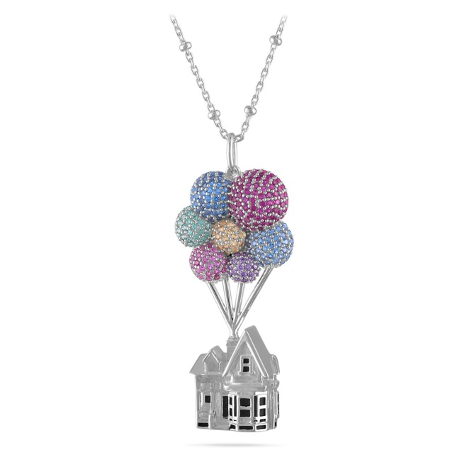 Up House Pendant Necklace by Rebecca Hook