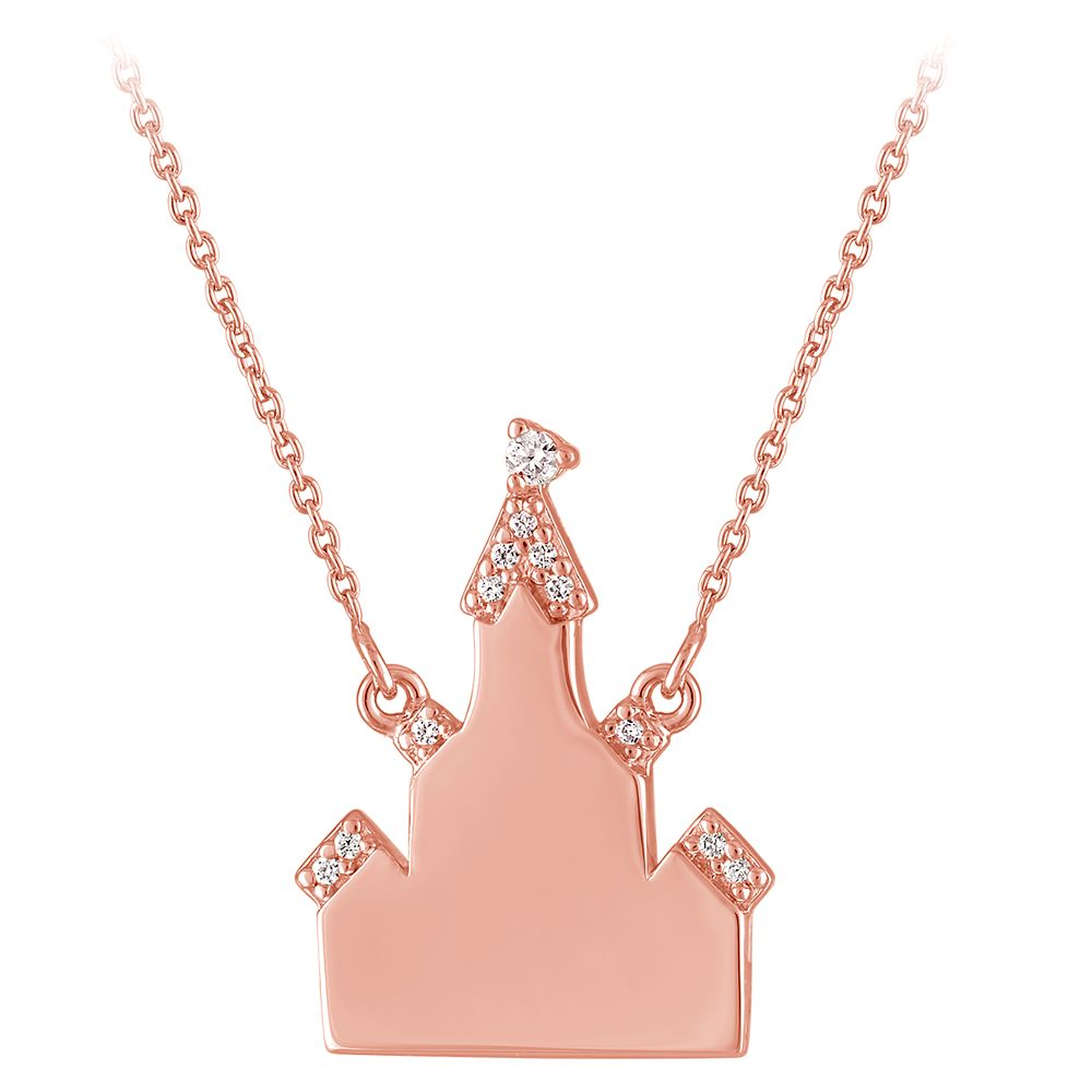 Fantasyland Castle Necklace by Rebecca Hook – Personalized
