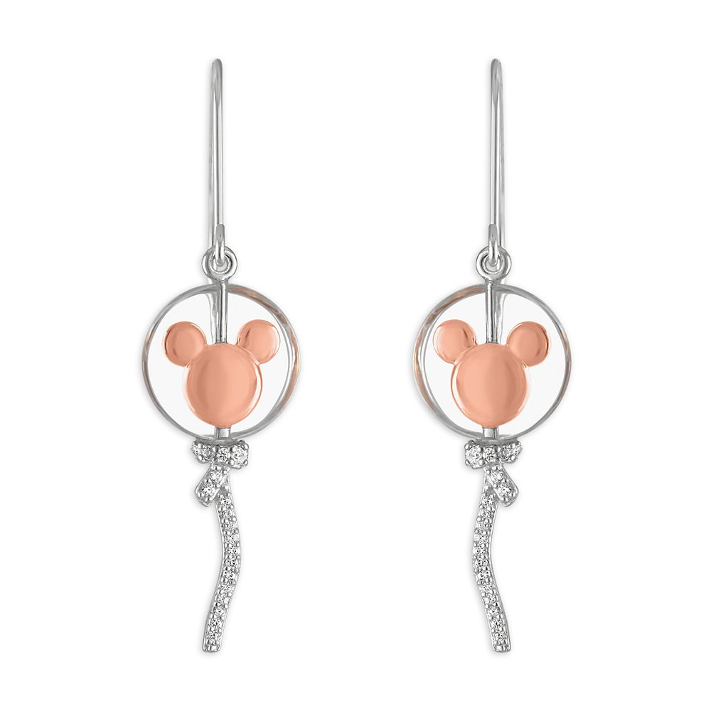 Mickey Mouse Balloon Earrings by Rebecca Hook