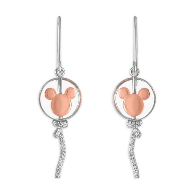 Mickey Mouse Balloon Earrings by Rebecca Hook