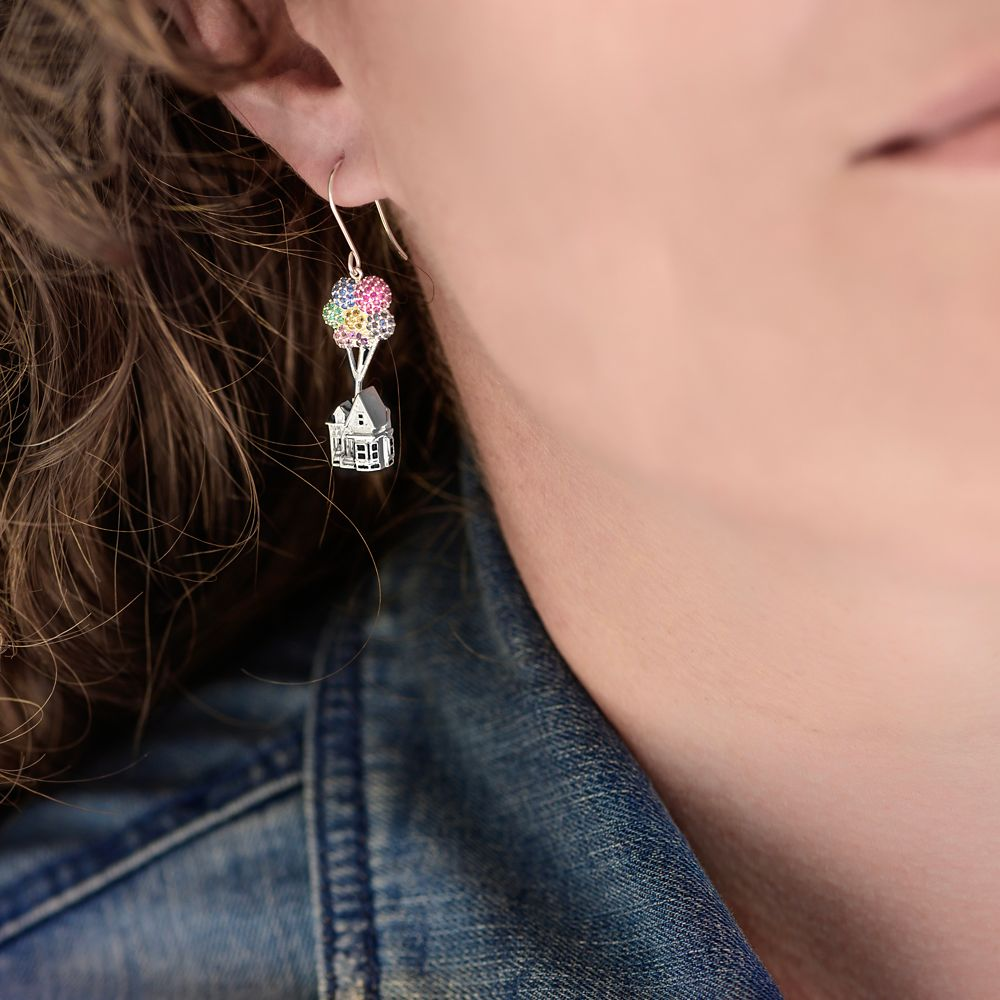 Up House Earrings by Rebecca Hook