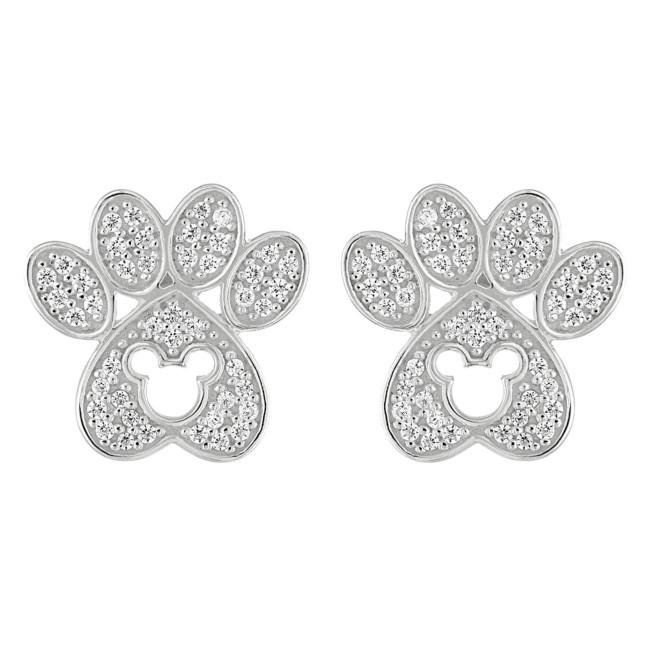 Mickey Mouse Paw Earrings by Rebecca Hook