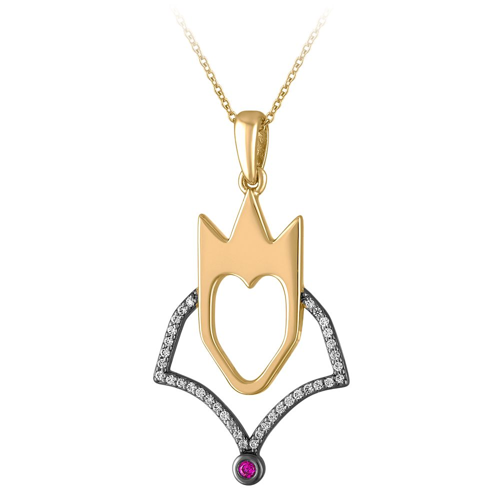 Evil Queen Pendant Necklace by Rebecca Hook