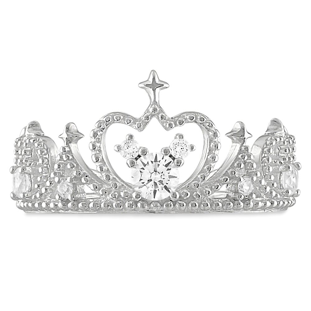 Mickey Mouse Icon Tiara Ring by Rebecca Hook