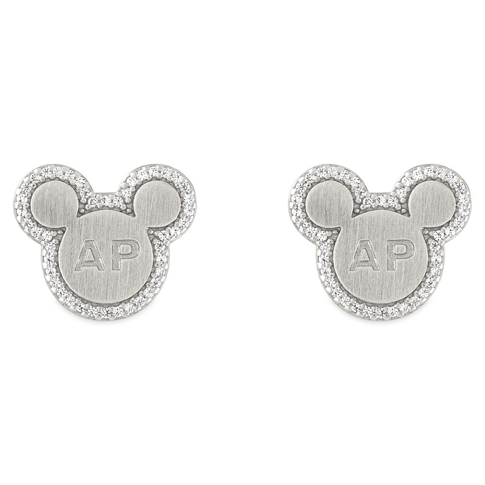 Mickey Mouse Icon Annual Passholder Pendant Earrings by Rebecca Hook