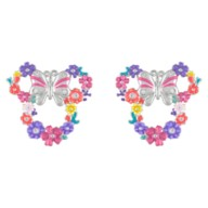 Minnie Mouse Floral Icon Earrings by Rebecca Hook