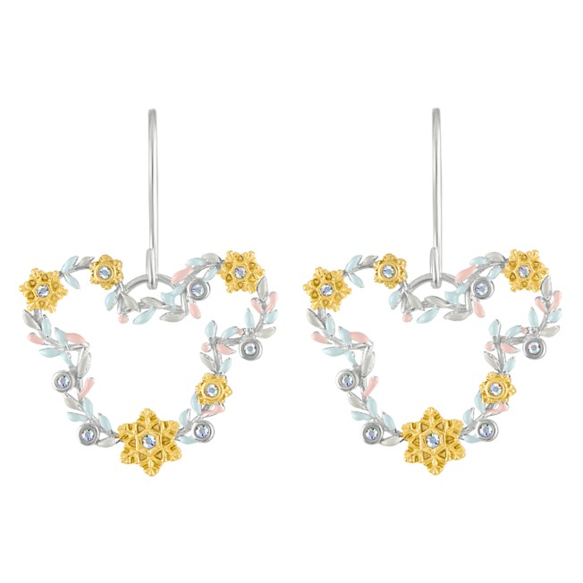 Mickey Mouse Holiday Earrings by Rebecca Hook
