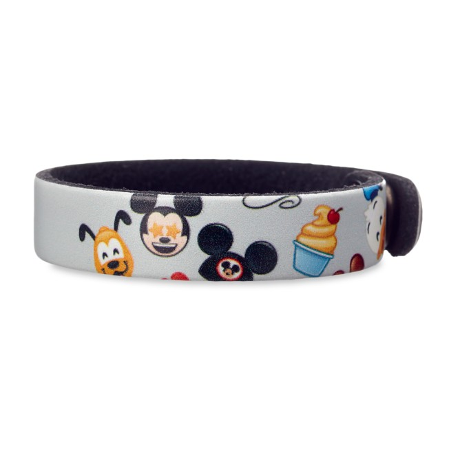 Disney Parks Emoji Leather Bracelet – Personalizable