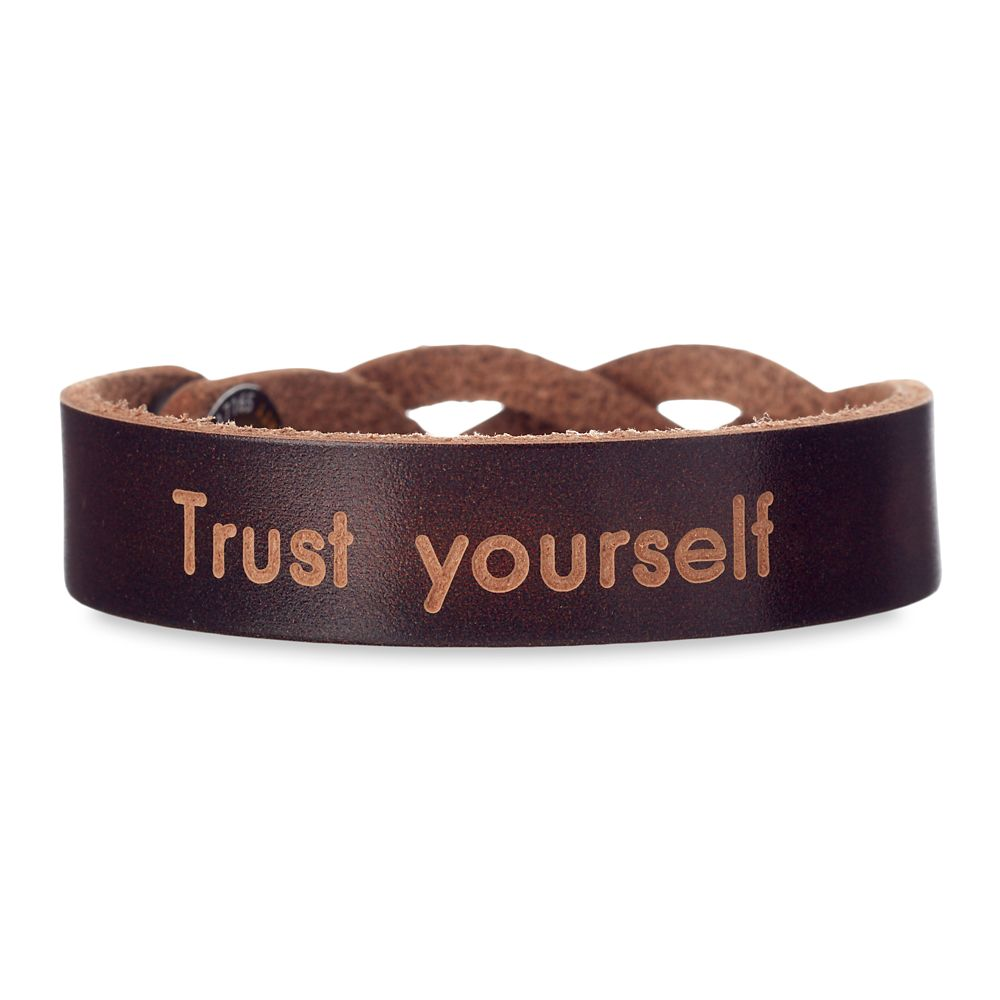 Mickey Mouse Icon Braided Leather Bracelet – Personalizable