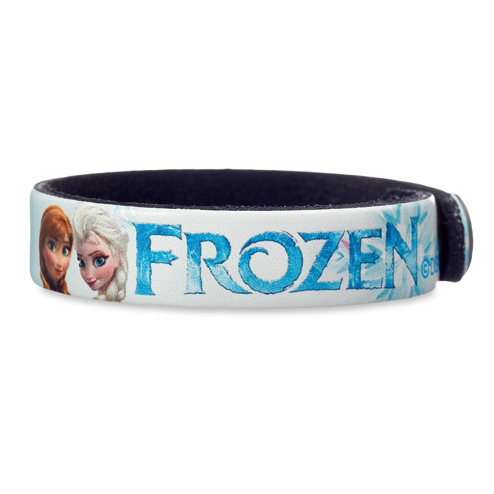 Frozen Leather Bracelet – Personalizable