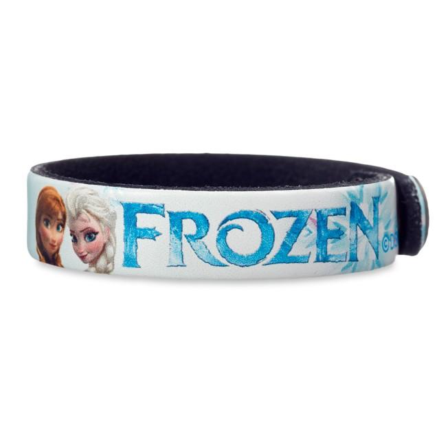 Frozen Leather Bracelet – Personalizable