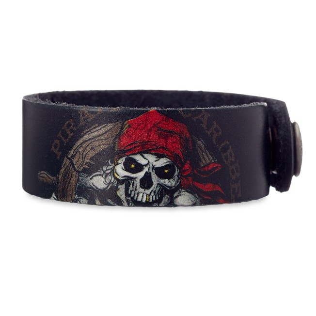 Pirates of the Caribbean Leather Bracelet – Personalizable