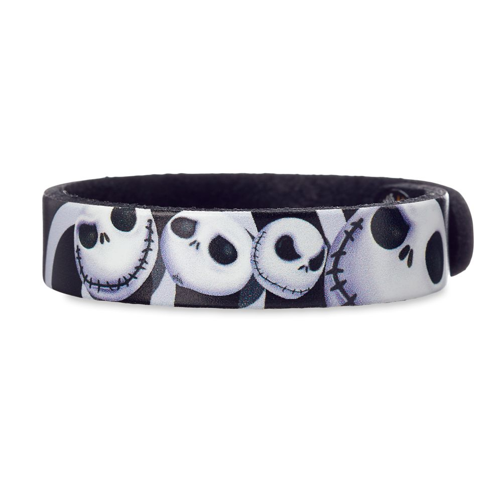 Tim Burton's The Nightmare Before Christmas Leather Bracelet – Personalizable