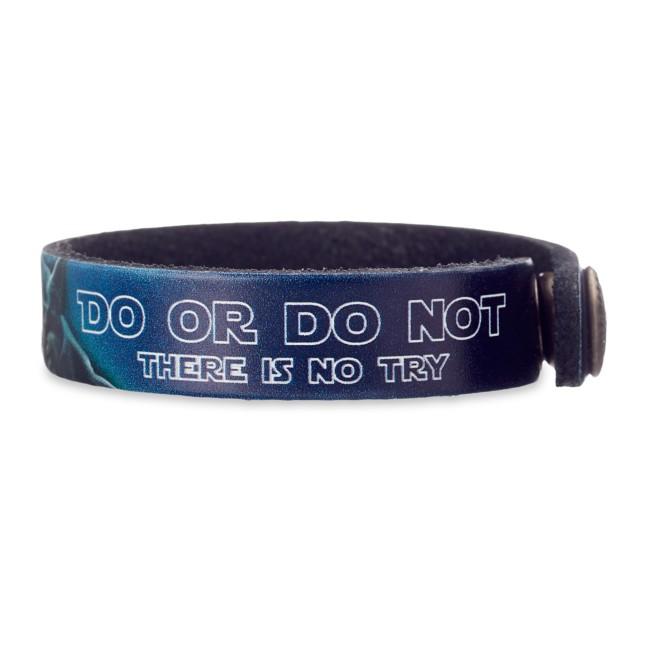 Yoda Leather Bracelet – Star Wars – Personalizable