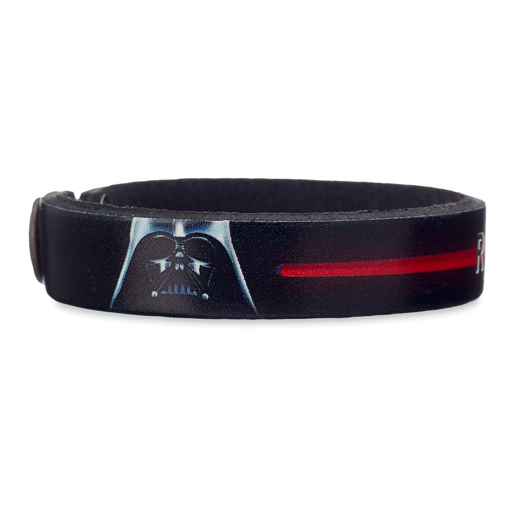 Darth Vader Leather Bracelet – Star Wars – Personalizable