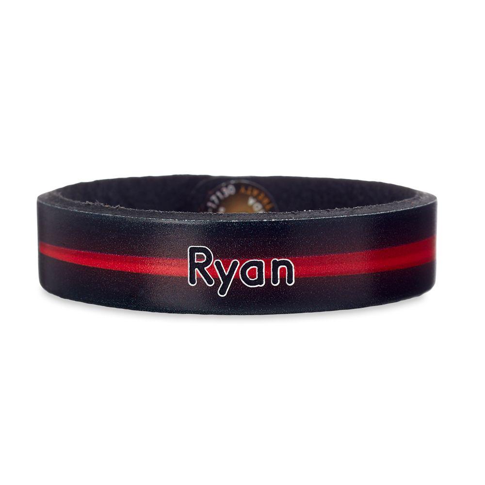 Darth Vader Leather Bracelet – Star Wars – Personalizable