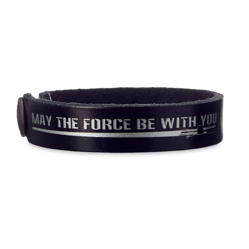 Star Wars Force Leather Bracelet  Personalizable Official shopDisney