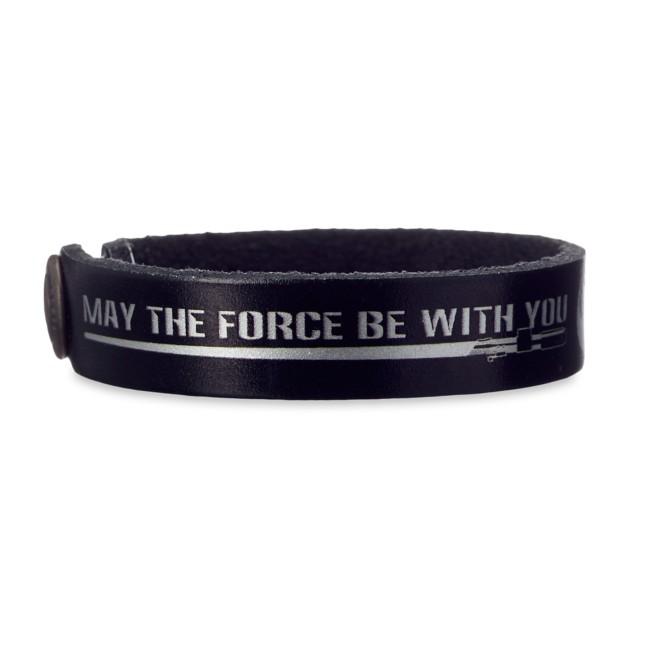 Star Wars Force Leather Bracelet – Personalizable