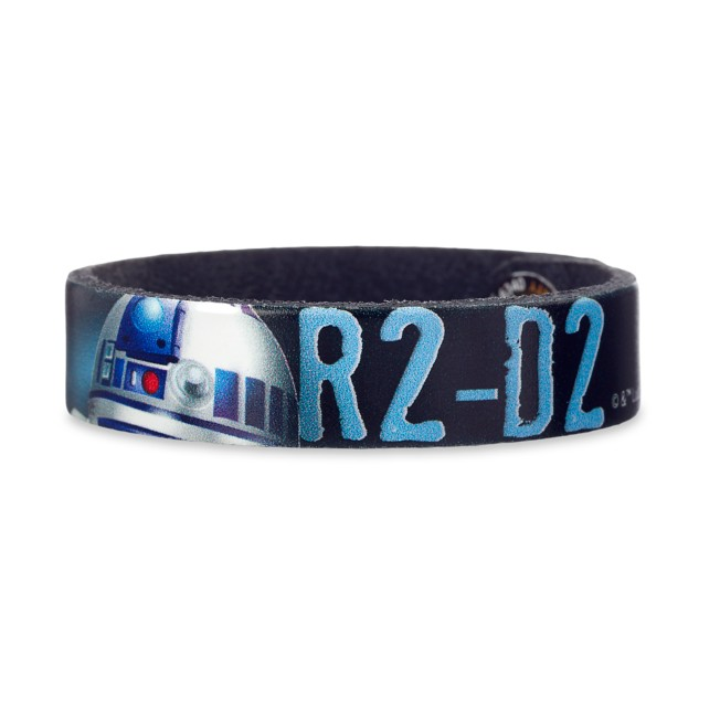 R2-D2 Leather Bracelet – Star Wars – Personalizable