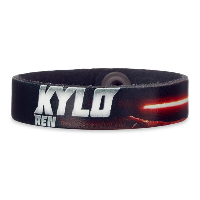 Kylo Ren Leather Bracelet – Star Wars – Personalizable
