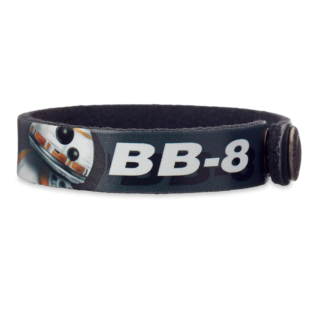 BB-8 Leather Bracelet – Star Wars – Personalizable