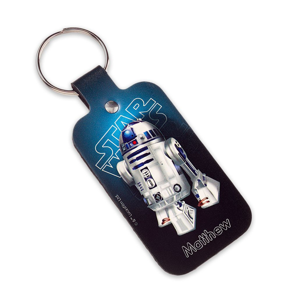 R2-D2 Leather Keychain – Star Wars – Personalizable