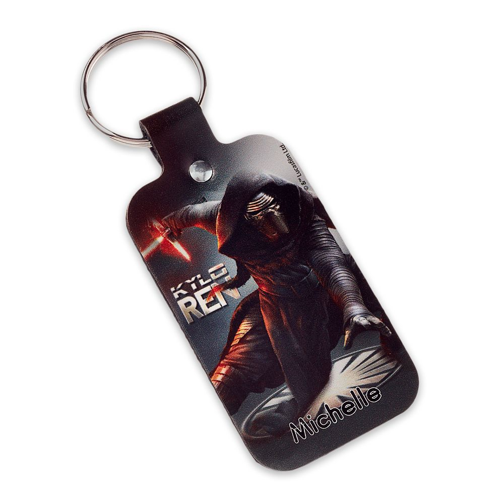 Kylo Ren Leather Keychain – Star Wars – Personalizable
