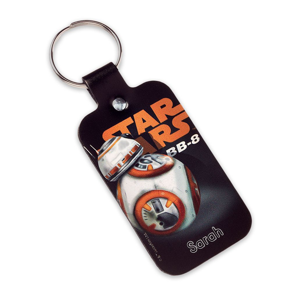 BB-8 Leather Keychain – Star Wars – Personalizable