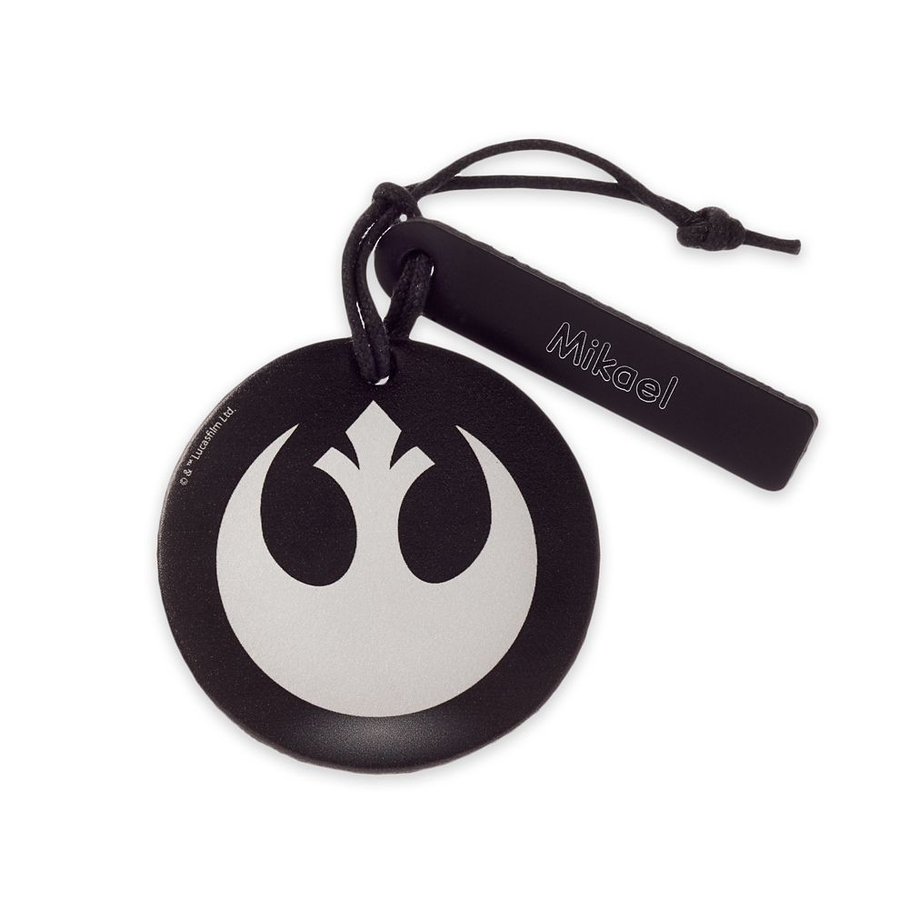 Star Wars Resistance Starbird Leather Luggage Tag – Personalizable
