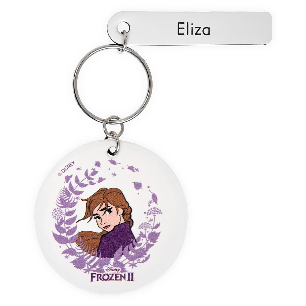 Anna Keychain by Leather Treaty – Frozen 2 – Personalized